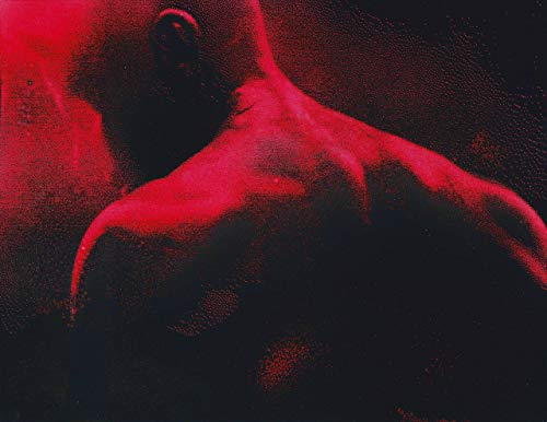 Daredevil Shoulders and Mask Metal Poster Netflix Spray Paint Art]()