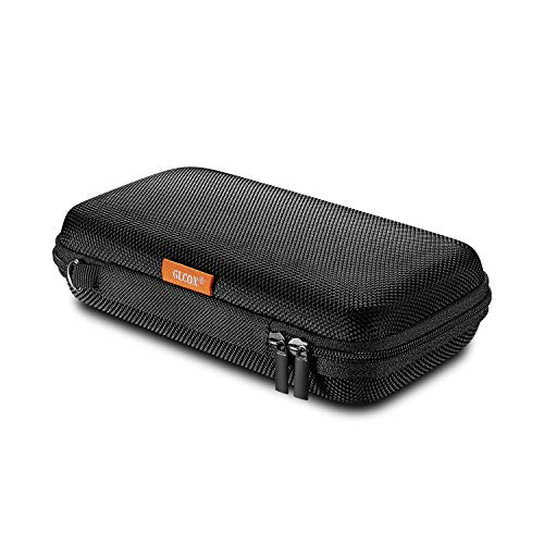 GLCON Portable Protection Hard EVA Case for External Battery,Cell Phone,GPS,Hard Drive,USB/Charging Cable,Carrying Bag Mesh Inner Pocket,Zipper Enclosure n Durable Exterior,Universal Travel Pouch Bag (Polaroid Phone Case Iphone 5)