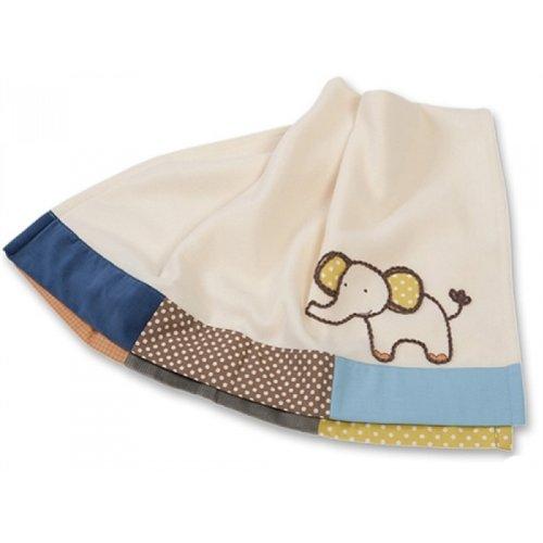 Sumersault Blanket, Animal Patch