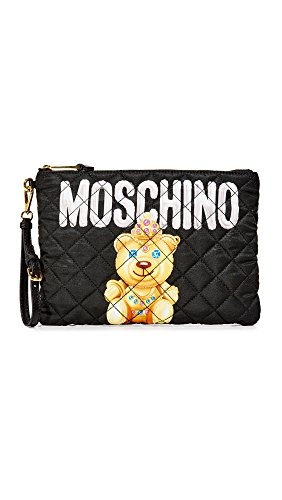 moschino-womens-little-bear-clutch-black-one-size