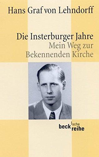 die-insterburger-jahre-mein-weg-zur-bekennenden-kirche-beck-sche-reihe