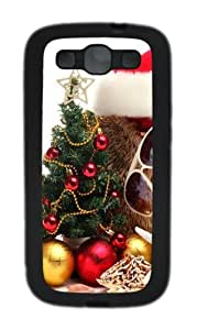ChrIstmas 4 TPU Case Cover for Samsung Galaxy S3 and Samsung Galaxy I9300 Black