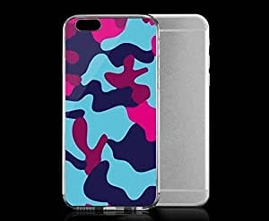 Light weight with strong PC plastic case for iphone 5c Patterns Camouflage Camo 5 WANGJING JINDA