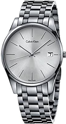 Jacob Time K4M21146 Calvin Klein CK Formality Stainless Steel Mens Watch - Silver Dial