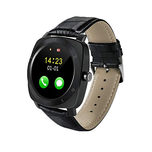 (#117) 1.33 inch Full IPS Round Touch Screen Bluetooth Smart Watch Phone With SIM Card Slot for Android - Watch 1.33 Inch Phone