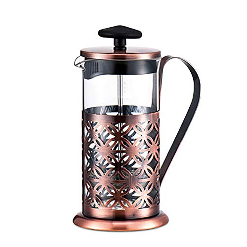MYD888 Coffee Maker Stovetop Espresso Machine Coffee Pot Moka Pot French Press and Filter System Hand-Washing Household Coffee Appliances 350 ML