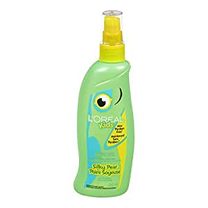 L'Oreal Paris Kids Silky Pear Tangle Tamer for Wet or Dry Hair, 265-Milliliter