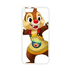 iPhone 6 4.7 Inch Cell Phone Case White Disney Private Pluto Character Chip F7654725