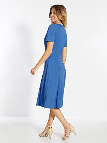 Bleu Uni Charmance Mujer Vestido Para AqAwxXInaB