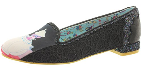 Zapatos Irregular Choice Little More Tea Shoes (Negro) Negro