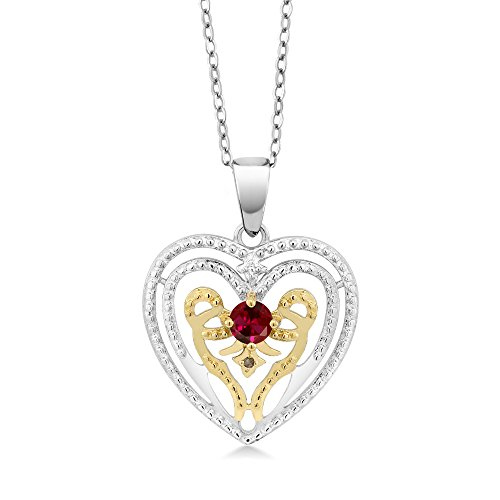 0.25 Ct Ruby Pendant - 6