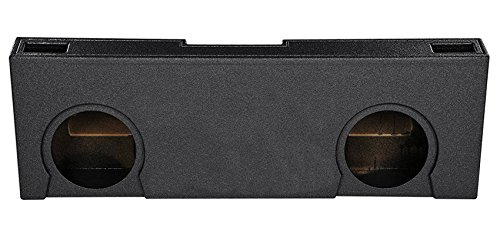 Crew Cab Dual 12″ Vented Ported Subwoofer Sub Box Enclosure for 07-13 GMC/Chevy