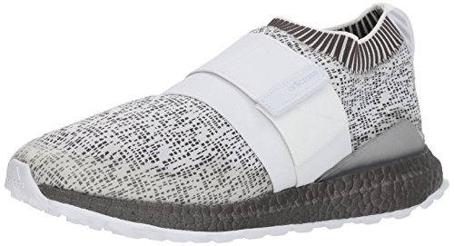 adidas Men's Crossknit 2.0 Golf Shoe, FTWR White/Trace Grey, 10 Medium US