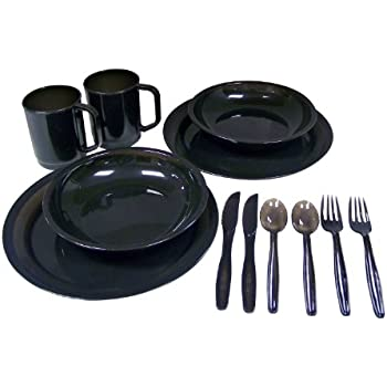 Nice Coleman 2 Person Dinner Set, Colors May Vary