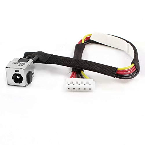 DBParts AC DC Power Jack Harness Cable for HP Compaq Presario C700 A900 C703 C709 C762NR C706NR C712NR C713NR C714NR C715NR C751NR C717NR F700 F751NR C769US C770US C771US C776NR C777NR A909US G7000