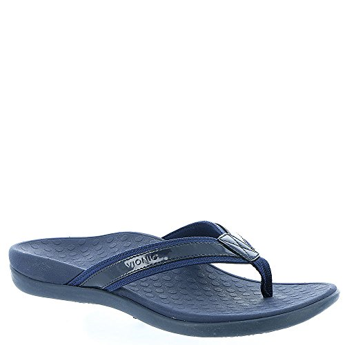 Vionic by Orthaheel Womens Tide II Sandal Navy Size 7