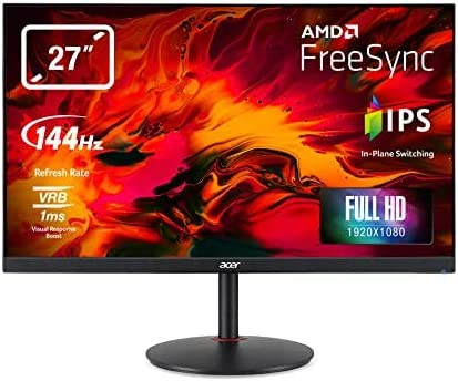 Monitor pc gaming acer nitro xv270pbmiiprx freesync 27