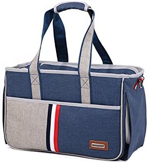 BENWEI Classics - Bolsa de transporte para mascotas de alta calidad, portátil, para perro, gato, al aire libre, suave, para mascotas, bolsa de hombro, bolsa ...