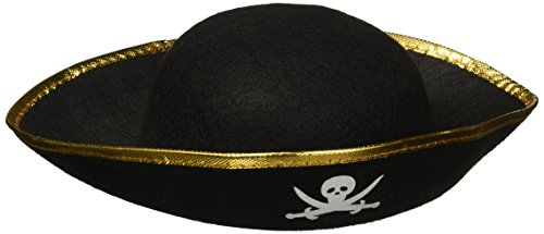 Rhode Island Novelty - Kids Felt Pirate Party Hat