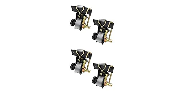 2 Pack Buyers Products 5480005 Ratchet Tie Down Down
