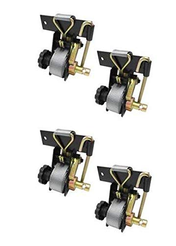 Qty. 4, Buyers Products 5480005-x2 Angle Mount Ladder Rack Ratchet Tie Down -