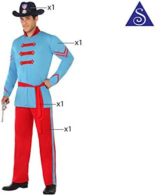 Disfraz para niños soldado de la guerra civil