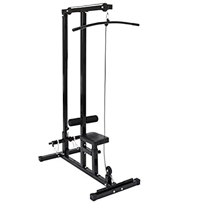 Best Choice Products Row and Lat Pull Down Machine