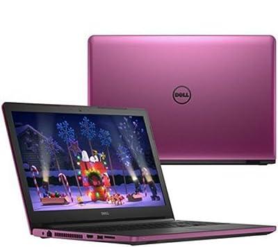 """2017 Newest Dell Inspiron 17 5000 17.3"""" HD+ Truelife LED Laptop, AMD A8-7410 Quad-Core 2.20GHz, 8GB RAM, 1TB HDD, DVD+/-RW, AMD Radeon R5, WIFI Bluetooth, HDMI, Webcam, Windows 10, Purple"""