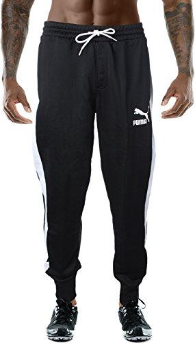 PUMA Men's Archive T7 Track Pants, Black, M