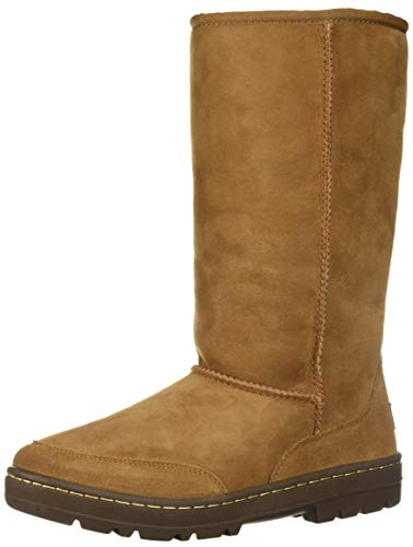 UGG Women's W Ultra Tall Revival Fashion Boot Chestnut 9 M US