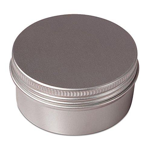 24ea - 4 Oz Aluminum Screw Top Tin Can W/Pe Cushion-Pkg