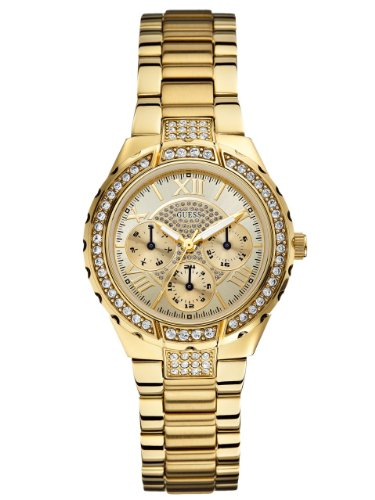 GUESS-Gold-Tone-Sparkling-Watch