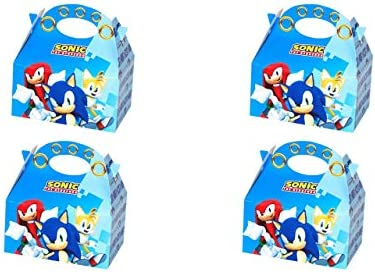 ALMACENESADAN 0654, Pack 4 cajitas de Carton para chuches Sonic ...