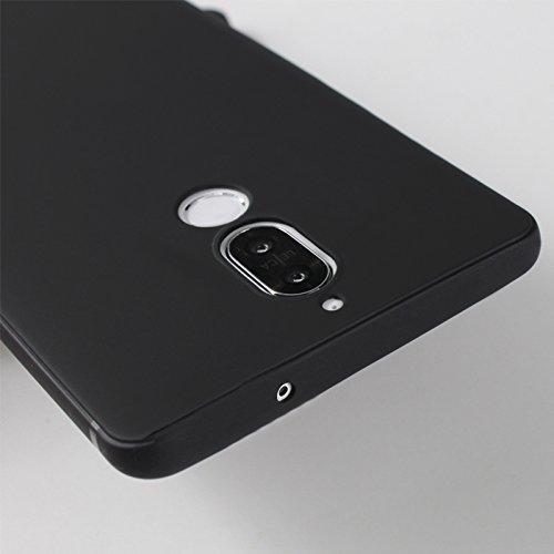 Cover para Huawei Mate 10 Lite , WenJie Pájaro Negro Accesorios Regalo TPU Silicona Suave Funda Case Tapa Caso Parachoques Carcasa Cubierta para Huawei Mate 10 Lite WM85