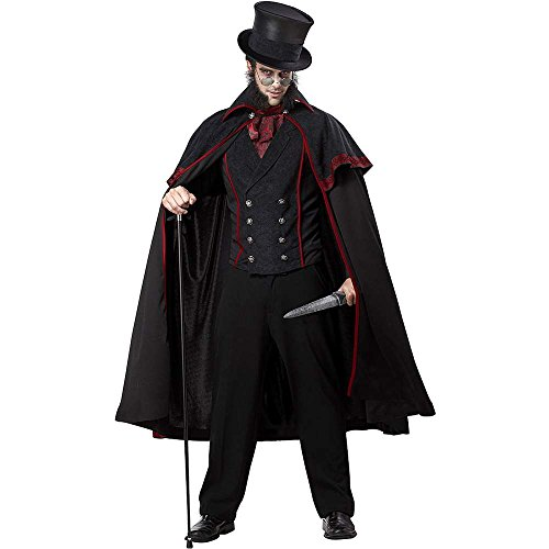 Jack the Ripper Adult Costume - Large -