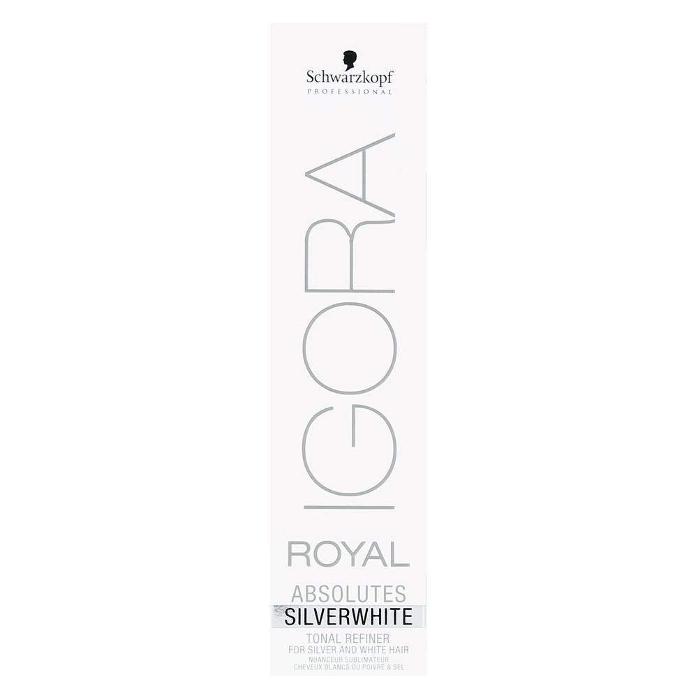 Schwarzkopf Professional Igora Royal Absolutes Tinte para el Cabello, Color Plateado, 60 ml