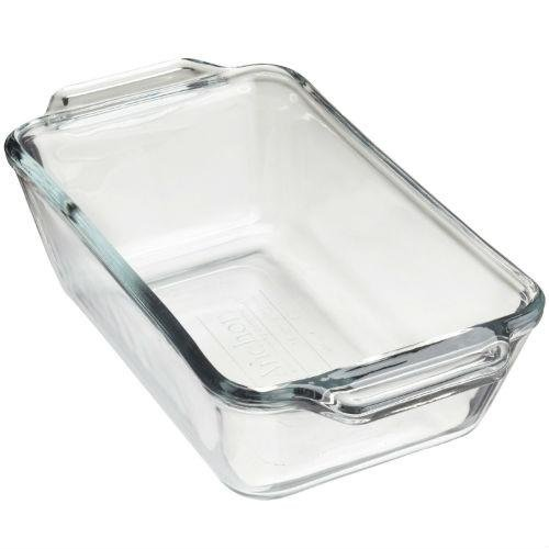 Anchor Hocking 5 Inch x 9 Inch Glass Loaf (Glass Loaf Dish)