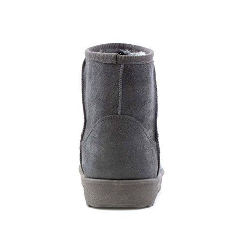 Lilley Grey Faux Grey Pull Boot Suede Womens On 70Zxwr7q
