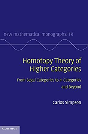 Homotopy Theory Of Higher Categories  From Segal