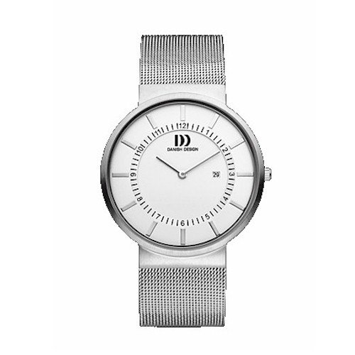 Danish Design IQ62Q986 Stainless Steel Silver Dial Men's Watch