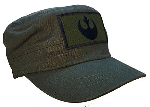 Star Wars Rebel OD Green Fatigue Cap Hat - Star Fatigue Cap Shopping Results