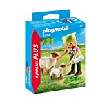 Playmobil 9356 Special Plus Farmer with Sheep Toy, Nylon/A