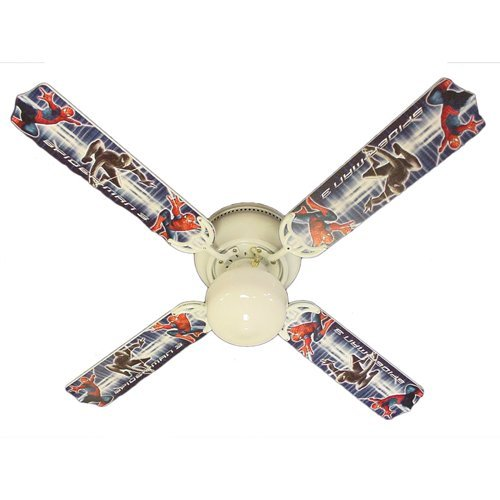 Ceiling Fan Designers Ceiling Fan, Amazing Spiderman 3, 42''