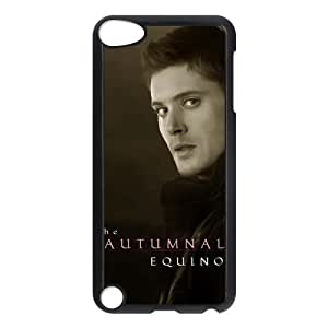 CTSLR Jensen Ackles Protective Hard Case Cover Skin for iPod Touch 5 5G 5th Generation- 1 Pack - Black/White -6 by ruishername