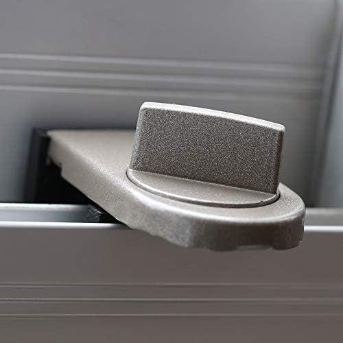 Lock Sliding Resistant and Reusable Baby Kids Child Safety Adjustable Sliding Window Door Security Lock Stopper Wedge