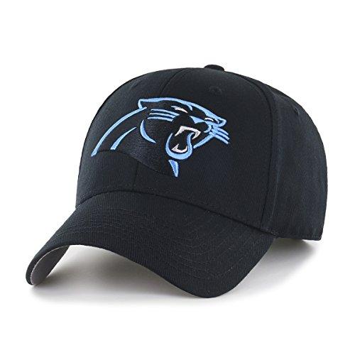 NFL Carolina Panthers OTS All-Star Adjustable Hat, Black, One Size