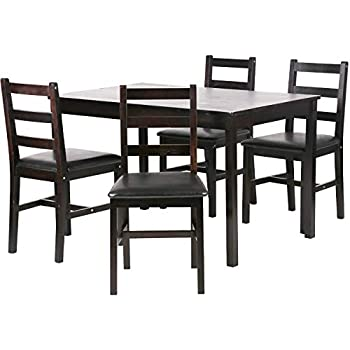 Enjoyable Fdw Dining Table Set Kitchen Dining Table Set Wood Table And Chairs Set Kitchen Table And Chairs For 4 Person Caraccident5 Cool Chair Designs And Ideas Caraccident5Info