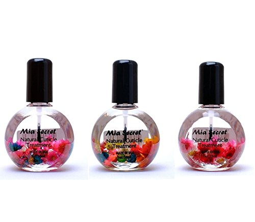 Mia Secret Set of 3 Blossom Manicure Cuticle Oil Treatment Scented Collection from Bargain_Factory
