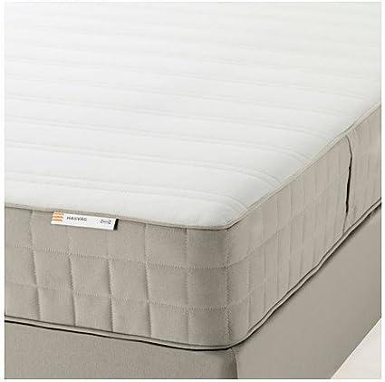 Ikea HASVAAG, colchón de muelles (tamaño Queen), firmeza ...