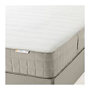 Ikea hasv g spring mattress queen size for Ikea queen size box spring